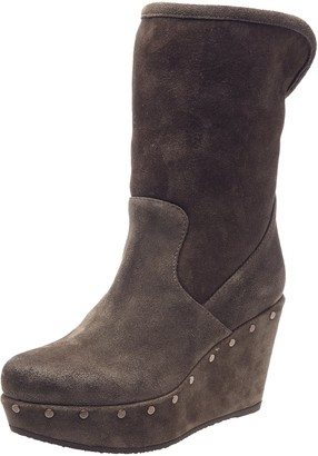 Fru.it Womens Boots Brown Taupe Size: 37