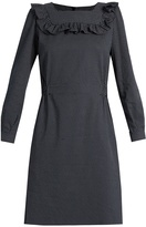 A.P.C. Mel polka-dot twill dress