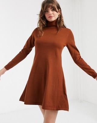 Only Julia long sleeve jumper dress