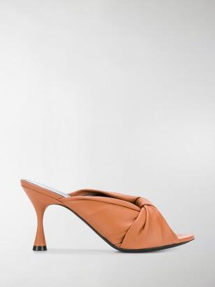 Balenciaga Drapy 80mm mules