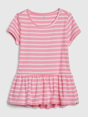 Gap Toddler Peplum Tunic T-shirt
