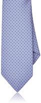 Barneys New York Men's Floral Silk Foulard Necktie
