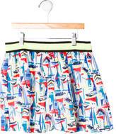 Milly Minis Girls' Printed Skirt