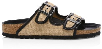 Birkenstock Arizona Hex Jute Sandals