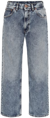 Maison Margiela Low-rise straight jeans