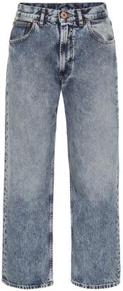 Maison Margiela Low-rise straight jeans