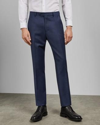 Ted Baker Debonair Subtle Print Wool Trousers