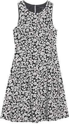 Maggy London Floral Sleeveless Fit & Flare Dress