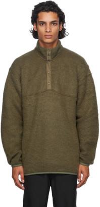 Nanamica Green Nanamican Pullover Sweater