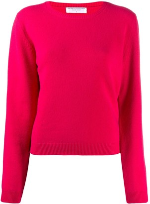 Majestic Filatures Crewneck Cashmere-Wool Jumper