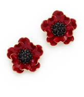Kate Spade Precious Poppies Stud Earrings
