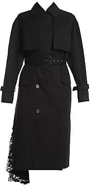 MSGM Women's Sequin Trenchcoat