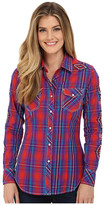 Rock and Roll Cowgirl Long Sleeve Snap B4S6046
