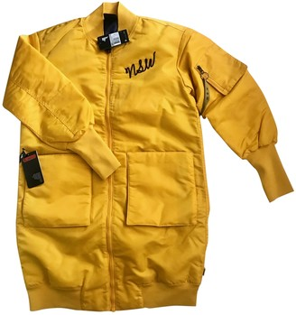 Nike Yellow Polyester Coats