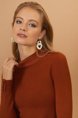 Coast Colour Pop Chain Earrings