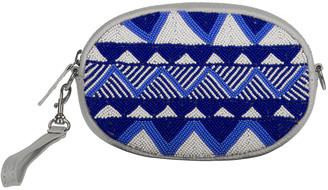 Aspiga Blue Mariana Zig Zag Belt Bag
