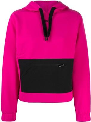 Reebok Edgeworks drawstring hoodie
