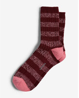 Express marled stripe socks