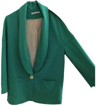 La Petite Francaise Green Cotton Jacket for Women