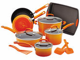 Rachael Ray Porcelain II Nonstick 14-pc.Cookware Set with Bakeware and Tools