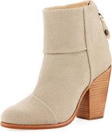 Rag & Bone Newbury Classic Fabric Boot, Taupe