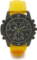 Perry Ellis Yellow Band Watch