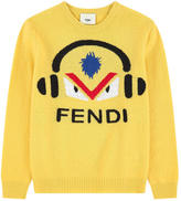 Fendi Monster wool sweater