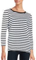 Splendid Striped Knit Top