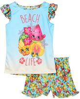 Intimo Shopkins Beach Life Ruffle Tank & Short Set (Little Girls & Big Girls)