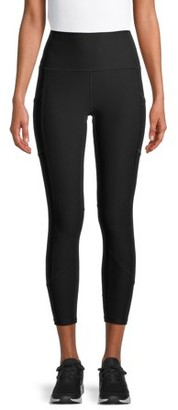 Layer 8 Women's Active 7/8 Leggings with Side Pockets