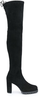 Stuart Weitzman Zoella thigh-high heeled boots