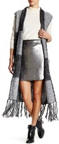Romeo & Juliet Couture Long Fringed Vest