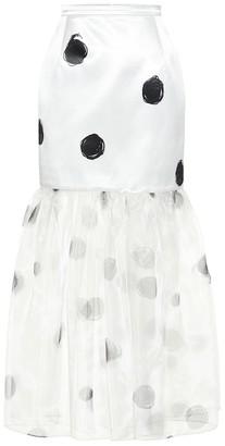 Christopher Kane Dot-print skirt
