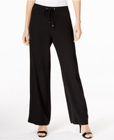 Calvin Klein Flare-Leg Soft Pants, Only at Macy's