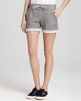 Aqua Shorts - French Terry with Roll Edges