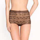 La Redoute Collections Embroidered Full Briefs