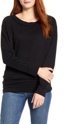 Caslon Dolman Sleeve Cotton Blend Pullover