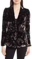 Rebecca Taylor Women's Jewel Velvet Blazer