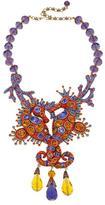 "Heidi Daus Royal Waterhorse"" Beaded Crystal Drop Necklace"