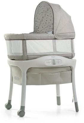 Graco Sense2Snooze Bassinet with Cry Detection Technology, Roma