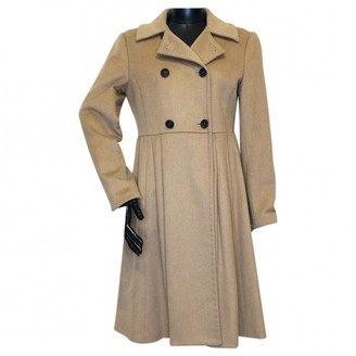 Miu Miu Camel Coat for Women