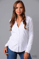 Long Sleeve Lined Button Down Shirt