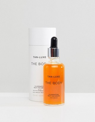 Tan-Luxe Tan Luxe The Body Illuminating Self-Tan Drops Light/Medium 50ml