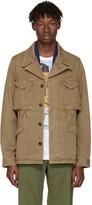 Visvim Tan Achse Peerless Jacket