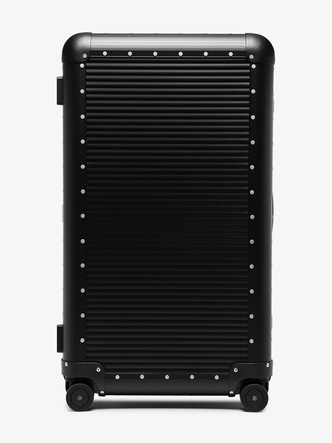 Thumbnail for your product : FPM Milano Black Bank Trunk On Wheels Check-In Suitcase