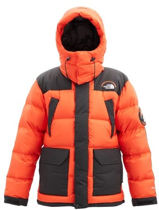 The North Face Head Of The Sky Hooded Quilted Down Coat - Orange