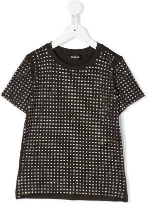 Diesel TJraty rhinestone-embellished T-shirt