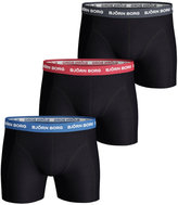 Bjorn Borg Men's 3 Pack Solids Boxer Shorts