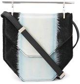 M2Malletier pony hair crossbody bag
