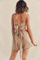 Urban Renewal Remade Tie-Back Romper